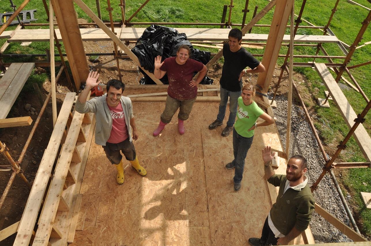 Learn eco build skills at Rock Farm Slane, Ireland