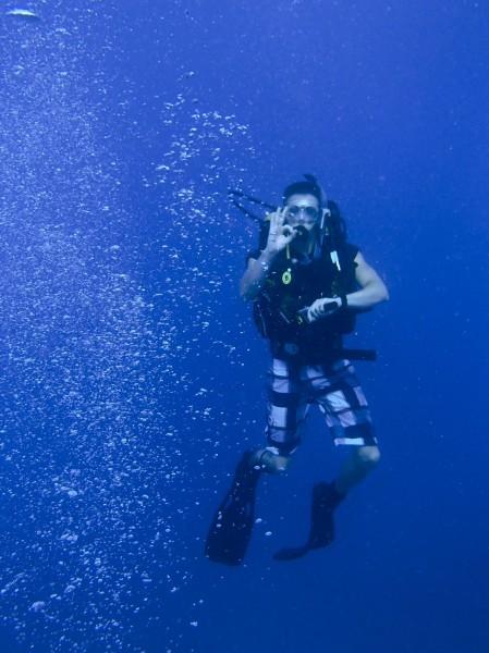 diving in Fiji, Frontier