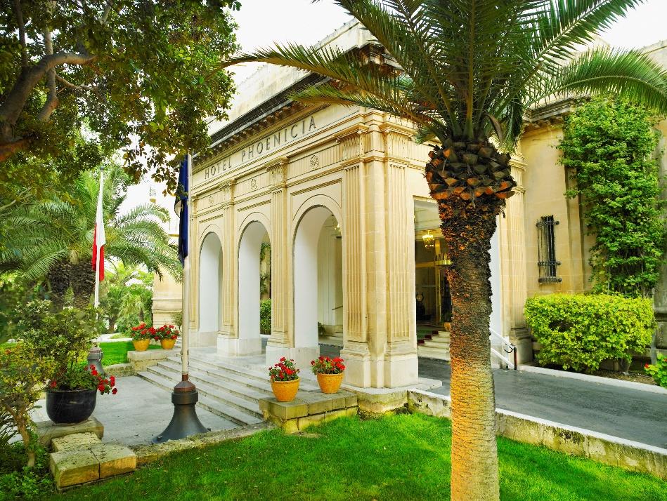 Eco style at Malta's oldest luxury hotel