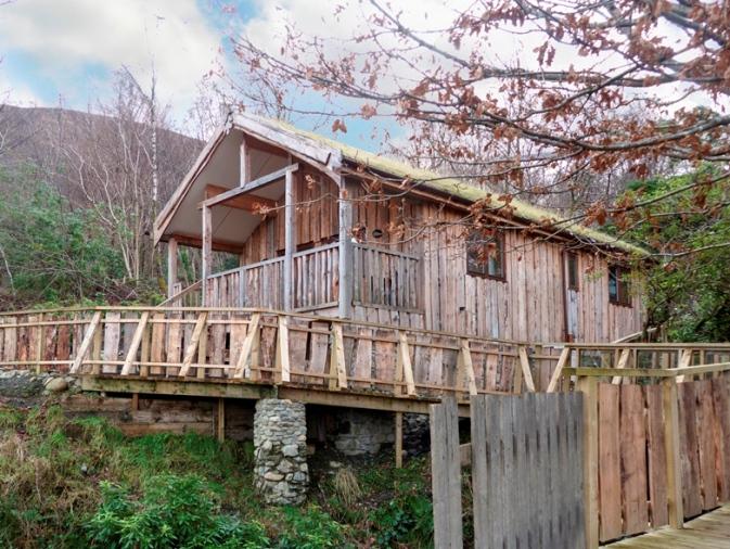 A log cabin retreat in Fort William, Scotland