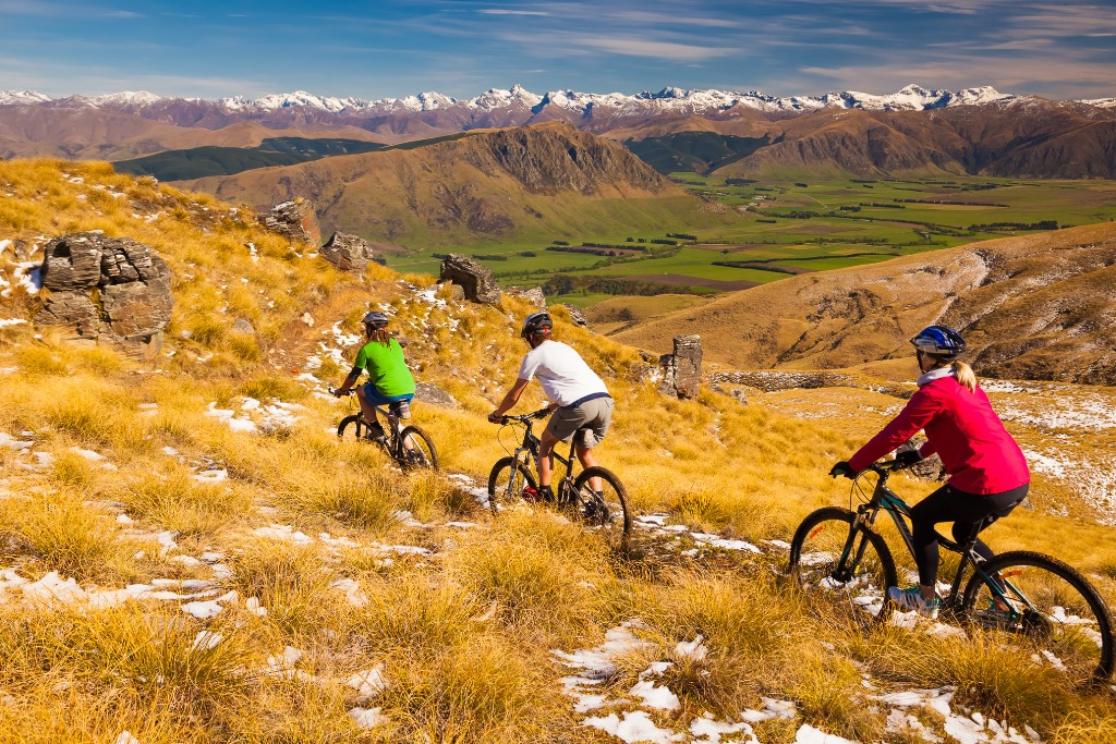 New Welcome Rock cycling trail launched in New Zealand