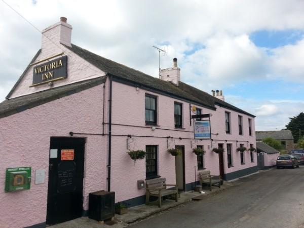 The Victoria Inn at Perranuthnoe, Cornwall
