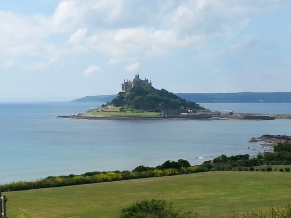 view from The Fire Engine Inn, Marazion