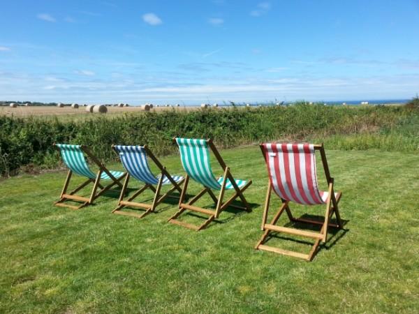 pull up a deckchair at Rocky Bottoms, Norfolk