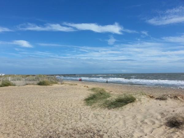 Walberswick beach nearby