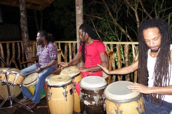 Zimbalist Retreat - Drummers in studio