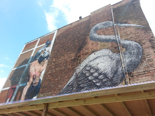 A walking tour of East London's street art