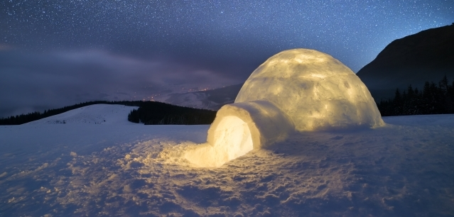 Sleep in an igloo on brand new Arctic adventure holiday