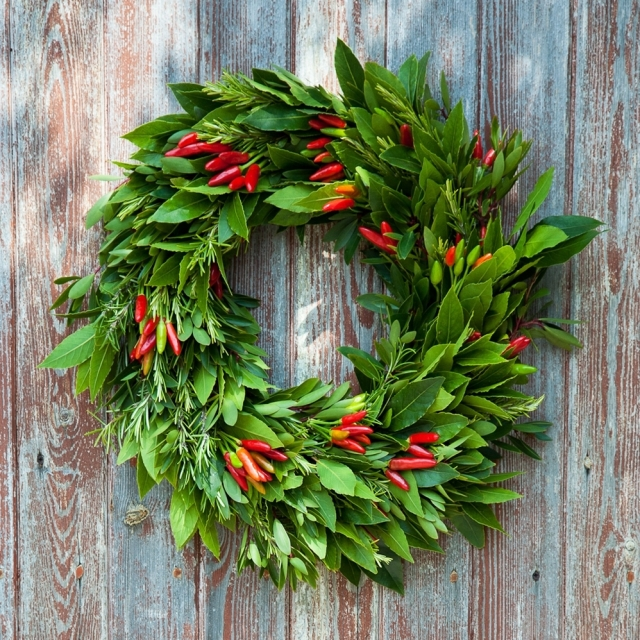 Deck the halls…with real holly and ivy